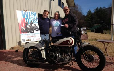 Pat Brase and B.J. Whitley Win 12th Annual WTT Vintage Motorcycle Raffle!!! (2014)