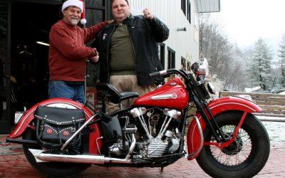 Jeff Kunz Wins 7th Annual WTT Vintage Motorcycle Raffle (2009)